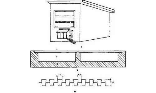 помещение для гусей